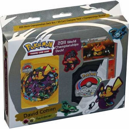 Pokémon: 2011 World Championships Deck - David Cohen