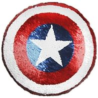 Polštář Avengers - Captain America, flitr