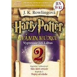 Harry potter a Kámen mudrců - audio CD 2