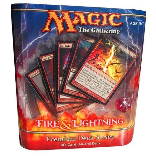 Magic: The Gathering - Premium Deck Series: Fire & Lightning