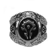 Prsten World of Warcraft - Horda (černý)