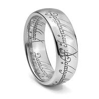 Prsten z Pána (stříbrná barva)
