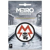 Pryžová nášivka Metro: Exodus - Spartan Logo