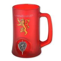 Půllitr Game of Thrones - s rotujícím znakem rodiny Lannisterů