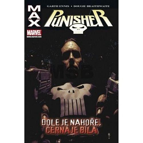 Punisher Max: Dole je nahoře, černá je bílá