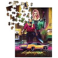 Puzzle Cyberpunk 2077 Kitsch, 1000 dílků