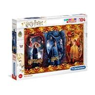 Puzzle Harry Potter - Harry, Ron a Hermiona, 104 dílků