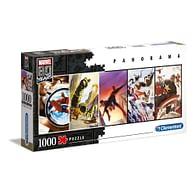 Puzzle Marvel 80th Anniversary - Panorama, 1000 dílků