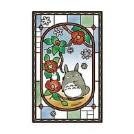 Puzzle My Neighbor Totoro - Blooming Camellia, 126 dílků
