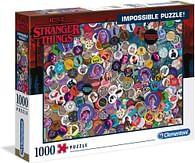 Puzzle Stranger Things - Odznaky, 1000 dílků