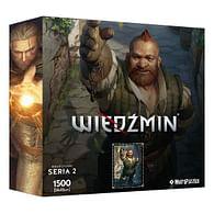 Puzzle Zaklínač: Zoltan (Hrdinové Zaklínače), 1500 dílků