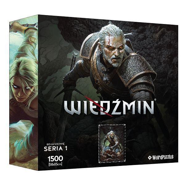 Puzzle Hrdinové Zaklínače (série 1): Geralt
