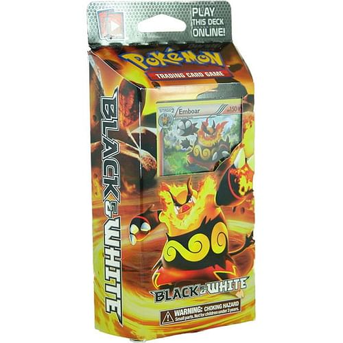 Pokémon: Black and White - Red Frenzy Theme Deck