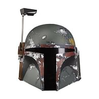 Replika Star Wars - elektronická helma Boba Fett
