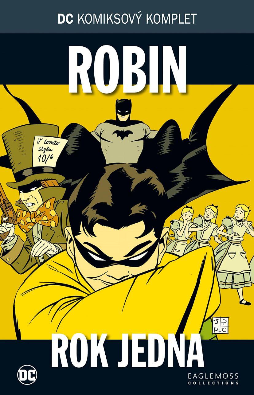 DC Komiksový komplet 23 - Robin - Rok jedna