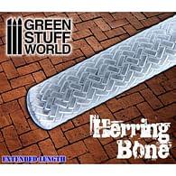 Rolling Pin - Herringbone, texturovací váleček