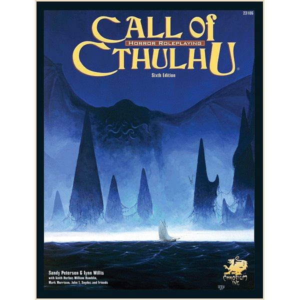 Call of Cthulhu RPG 6th edition