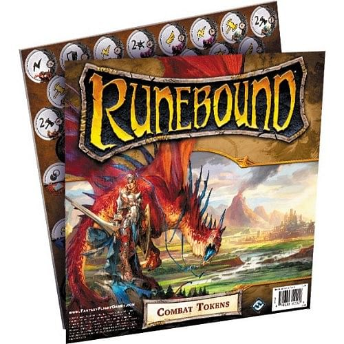 Runebound (třetí edice): Combat Tokens