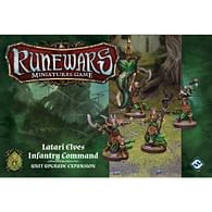 RuneWars: The Miniatures Game - Latari Elves Infantry Command Unit Upgrade