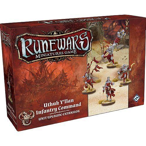 RuneWars: The Miniatures Game - Uthuk Y'llan Infantry Command Unit