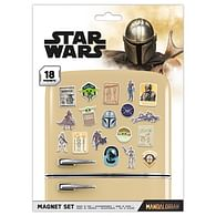 Sada Magnetek Star Wars: Mandalorian (18 ks)