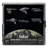 Sada odznaků Fallout (limitovaná edice), 6 ks