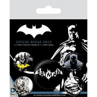 Sada placek Batman - Dark (5 ks)