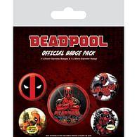Sada placek Deadpool - Outta the Way