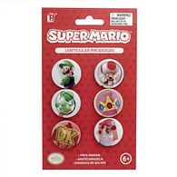 Sada placek Super Mario (6 kusů)