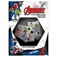 Sada vinylových samolepek Marvel - Avengers Heroes (33 ks)