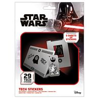 Sada vinylových samolepek Star Wars - Síla (29 ks)