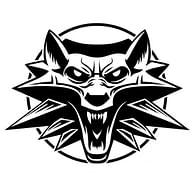 Samolepka Zaklínač - Logo
