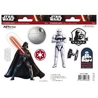 Samolepky Star Wars - Darth Vader a Trooper
