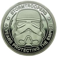 Sběratelská mince Stormtrooper - 40 Years Protecting The Empire