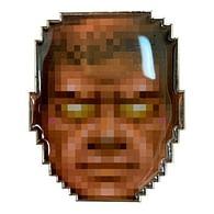 Sběratelský odznak Doom 25th Anniversary