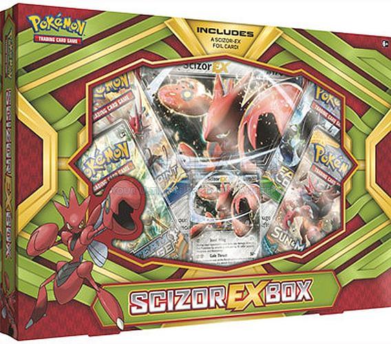 Pokémon: Scizor-EX Box