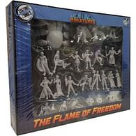 Sentinel Tactics: The Flame of Freedom Unpainted Miniatures