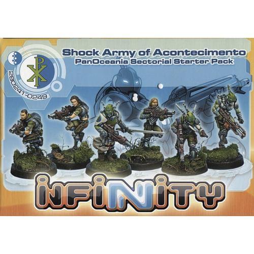 Infinity: Shock Army of Acontecimento - PanOceania Sectorial SP