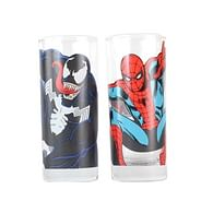 Sklenice Marvel - Spider-Man a Venom (2 ks)