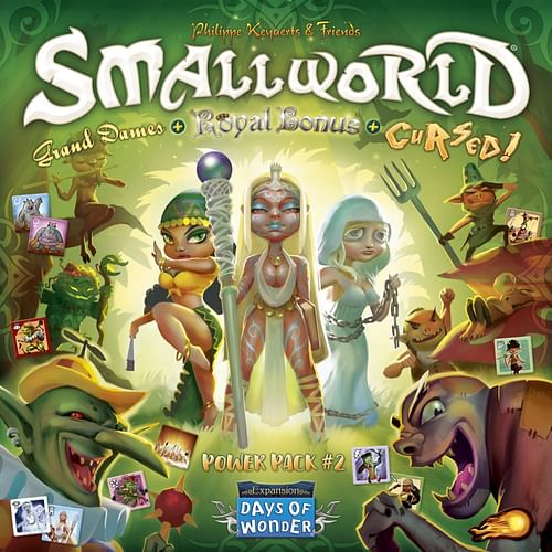Small World: Power Pack 2 - Cursed, Grand Dames & Royal