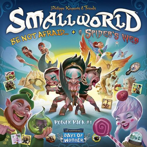 Small World: Power Pack 1 - Be Not Afraid & A Spider Web