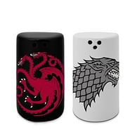 Solnička a pepřenka Game of Thrones - Stark & Targaryen