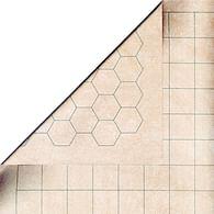 Soubojová podložka menší, rastr 2,5 cm