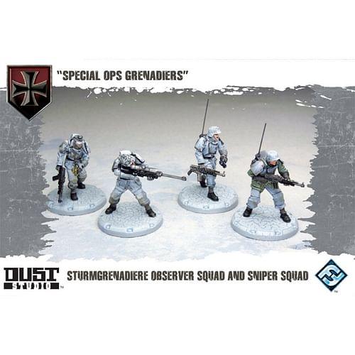 Dust Tactics: Special Ops Grenadiers