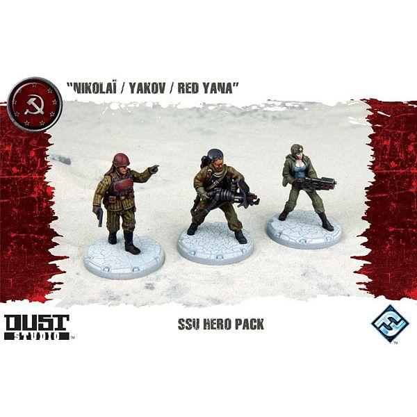 Dust Tactics: SSU Hero Pack