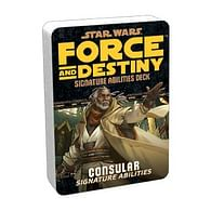 Star Wars: Force and Destiny - Consular Signature Abilities Specialization Deck