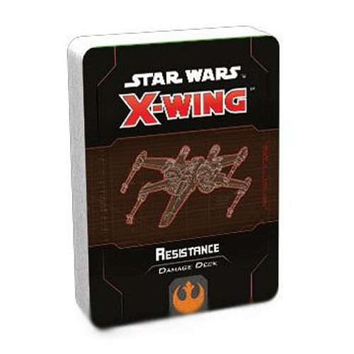 Star Wars X-Wing (second edition): Resistance Damage Deck
