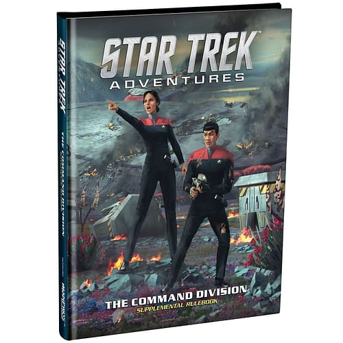 Star Trek Adventures RPG: Command Division Supplement