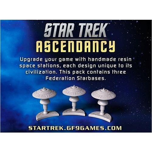 Star Trek: Ascendancy - Federation Starbases