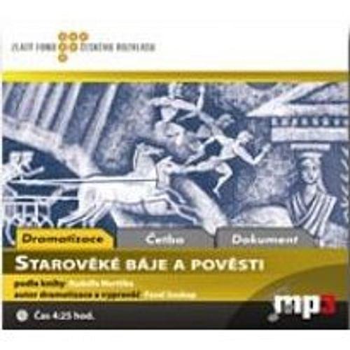 Starověké báje a pověsti - audiokniha (1 CD)